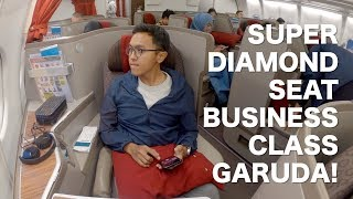 Video SUPER DIAMOND SEAT GARUDA BUSINESS CLASS A330-300 PALING BEST! Flight GA418 Jakarta to Bali MP3, 3GP, MP4, WEBM, AVI, FLV April 2019