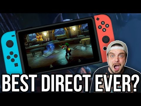 Nintendo Direct REACTION - HUGE NEW SWITCH GAMES! | RGT 85 (видео)
