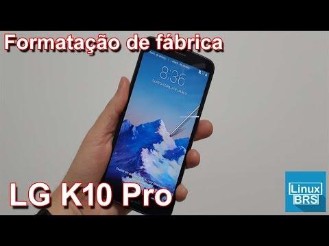 Tudocelular - LG K10 Pro - Formatação Fábrica