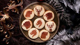 Game Of Thrones Stencil Cookies • Tasty by Tasty