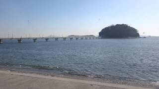 Gamagori Japan  City new picture : Japan's Aichi Prefecture Gamagori coast, look over