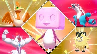 Pokémon Sword & Shield Shiny Hunting Highlights #02 (Cramorant, Eiscue, Grimmsnarl, Obstagoon) [4K] by Ace Trainer Liam