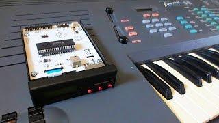 E-MU Emax - HxC Floppy Drive Emulator Upgrade - How to vid