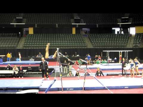Jordyn Wieber - 2012 Kellogg's Pacific Rim Championships Podium Training - Uneven Bars