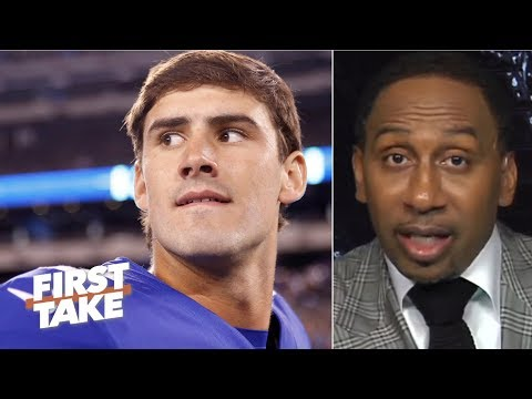 Video: Daniel Jones is in for a tough outing against the Buccaneers – Stephen A. | First Take