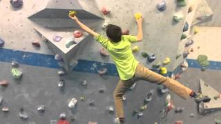 I've been coaching Johnny for a few years now, through private sessions for a while and now as a new member of the Vauxsquad (VauxWall's junior competition team). He's definitely picked up a couple of bad habits from watching me (mostly cutting loose a bit too often) but I'm so incredibly proud of how much he's learned, and he here is showing just how much...
