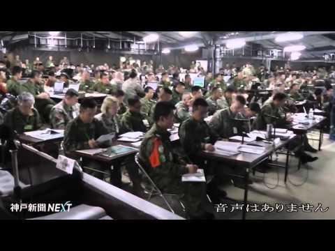 日米共同方面隊指揮所演習(陸上自衛隊提供)