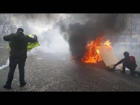 Frankreich: Proteste der »Gelbwesten« eskalieren -  ...