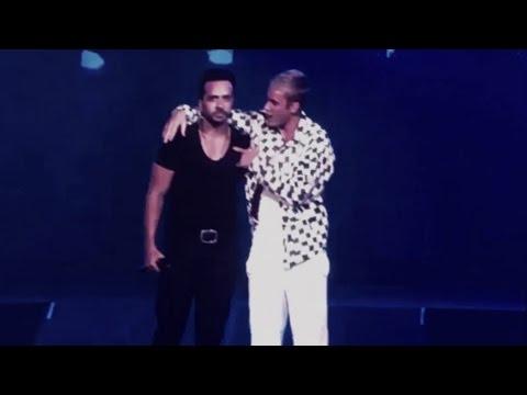 Justin Bieber y Luis Fonsi cantan