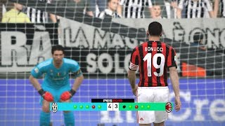 Juventus vs Ac Milan Penalty Shootout Simulated #PES2017 [New Kits 2017/18Subscribe : https://goo.gl/hOkuyhTwitter : https://twitter.com/LionelPesG+ : https://goo.gl/Bz7FAmPatch : SS Patch Scoreboard : PES 2018 by aziz17 https://goo.gl/d9qAGGAdboard : PES 2018 by Abid Nabawi https://goo.gl/okOQzOKits : Kits Pack 2017/18 HD V3 by Geo_Craig90  https://goo.gl/QUEd8vPES 2017 Fantasy Gameplay/Penalty Shootout : https://goo.gl/gPYg18PES 2017 All Star Gameplay/Penalty Shootout : https://goo.gl/PKXzD8