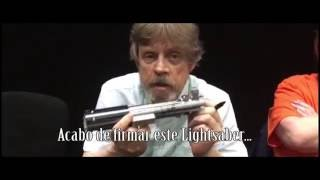 [SORTEO] Luke Skywalker firma sable para Into the Force en Argentina Game Show