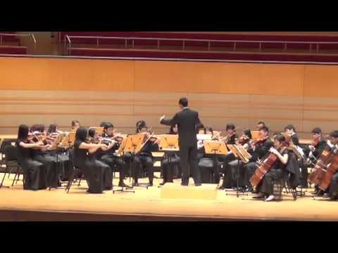 Adagio for Strings performed at the 2012  Festval of Gold, Sergerstrom Hall, Ca.