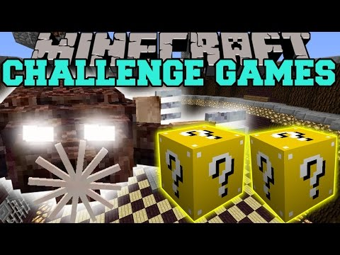 Minecraft: MOLENOID CHALLENGE GAMES - Lucky Block Mod - Modded Mini-Game