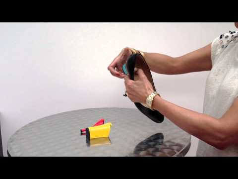 Changing a TANYA HEATH Paris heel | 2013 Innovative High Fashion Designer Shoes