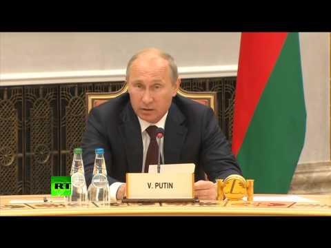 Владимир Путин: Россия не против участия других стран в различных союзах, но не за ее счет