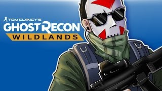 Ghost Recon Wildlands - Exploring the world! (4 player co-op!)