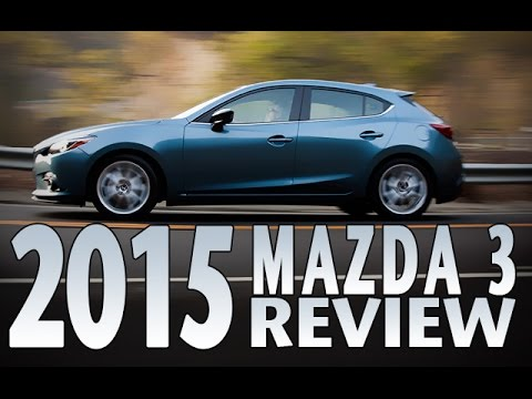 Watch the 2015 Mazda 3 in Action. Review and Test Drive