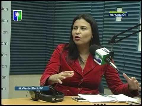 ENTREVISTA A ISIS PEREZ EN LA VERDAD RADIO TV