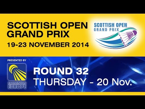 R32 – XD – P.MACHUGH / R.FINDLAY vs R.BECK / K.KATTENBECK – Scottish Open Grand Prix 2014