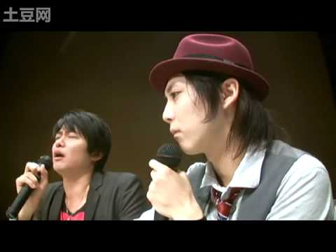 Kaji - weekly video! kaji kyun's FACE! with shimono hiro it seems like kaji kyun took the sweet time of touching hiro-tan's chest hiro-tan has made a crazy funny se...