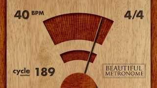 Download Lagu 40 BPM 4/4 Wood Metronome HD Mp3