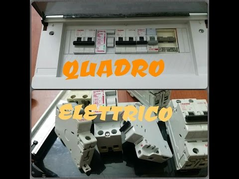 Quadro elettrico..com'è fatto e come collegarlo
