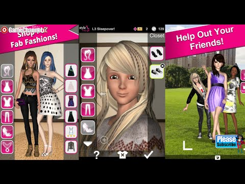 Style Me Girl Free 3D Dressup Android İos Free Game GAMEPLAY VİDEO 3D FASHION GAME