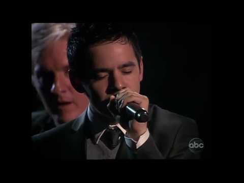 David Archuleta singing Contigo en la distancia at ALMA Awards