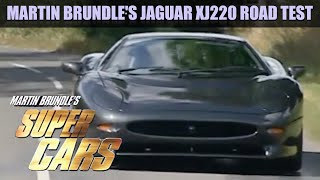 Martin Brundle's Jaguar XJ220 Road Test | Fifth Gear by Fifth Gear