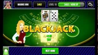 Blackjack King YouTube video