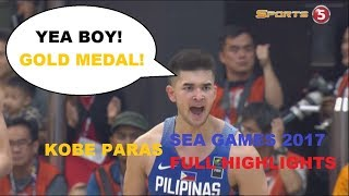 Video KOBE PARAS SEA GAMES 2017 FULL HIGHLIGHTS | GOLD MEDALIST | All About Basketball | MP3, 3GP, MP4, WEBM, AVI, FLV November 2018