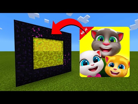 How To Make A Portal To The My Talking Tom Friends Dimension in Minecraft!