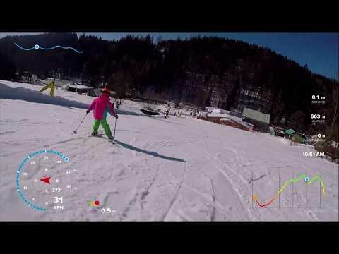 Ski Zdobnice modrá 2