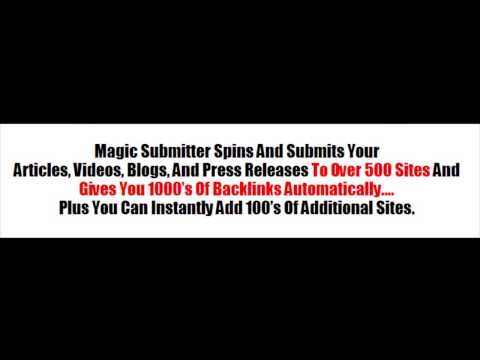seo software - Best SEO Software - Link Building Software -http://magicsubmittertutorials.com/bestseosoftware Check out this Best SEO Software & Link Building Software avai...