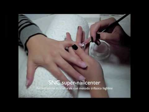 nail art – ricostruzione con metodo trifasico