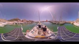 El Mabrouk Sailing a 360º