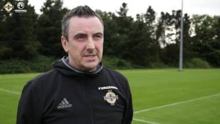 🎥 Our Women's Under-19 goalkeeping coach, Damian McCorry, believes that the UEFA Women's Under-19 Championship is an opportunity for our girls to show just how good they are ⚽️👐🏻 #BestofNI #GAWA