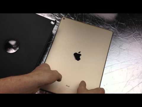iPad Pro Case 360 rotating case 12.9 Pu Leather unboxing and review
