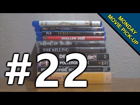 Monday Movie Pick-Up #22 - NEW BLU-RAYS! (Night Of The Living Dead, Die Hard, Criterion)