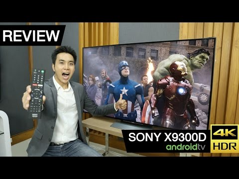 Review : Sony 4K HDR TV 65X9300D