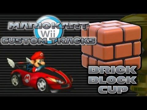 Mario Kart Wii Custom Tracks - Brick Block Cup