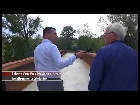 Ponte Buriano, passerella sulla Chiana: la risposta della Provincia