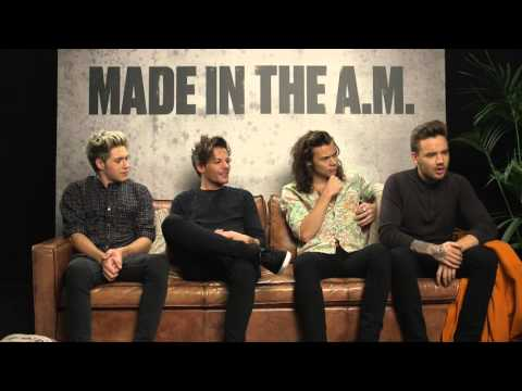 One Direction's Made In The A.M. - Interview
