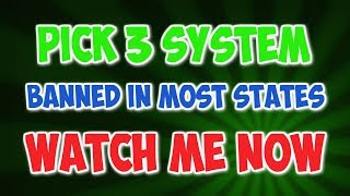 NEW PICK 3 SYSTEM WIN PICK 3 PICK 3 STRATEGY EASY PICK 3 SYSTEM (Recorded with http://screencast-o-matic.com)
