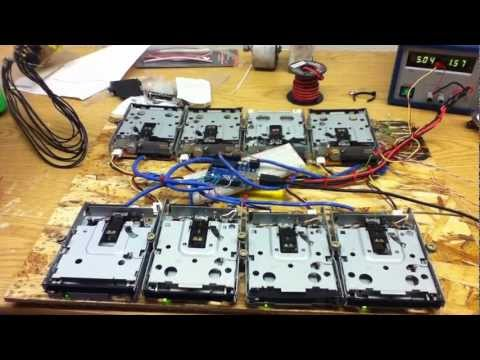 007 Theme On Floppy Drives