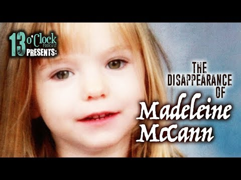 Episode 141 - The Disappearance of Madeleine McCann