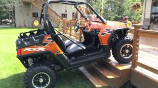8. 2013 Nuclear Orange Polaris 800 LE RZR Razor For Sale 55720 MN Eddie  Vegas