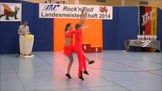 Analena Müler & Andrik Müller - Landesmeisterschaft Rheinland- Pfalz 2014