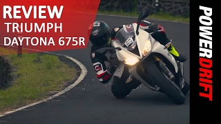 3. Triumph Daytona 675R Review l PowerDrift