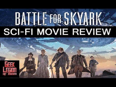 BATTLE FOR SKYARK ( 2016 Caon Mortenson ) Sci-Fi Movie Review